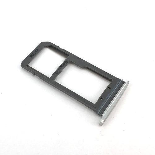 CellPhonez.in - Sim Tray Replacement For Samsung S7 edge Silver