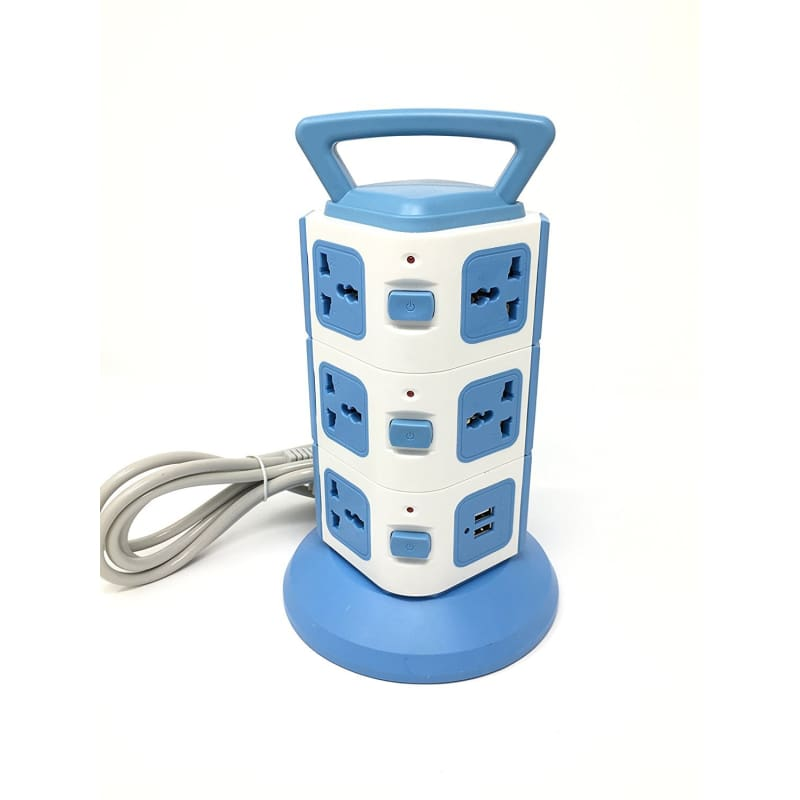 CellPhonez.in - Smart Power Sockets 3 Layers with 11 EU & 2 USB Outlets