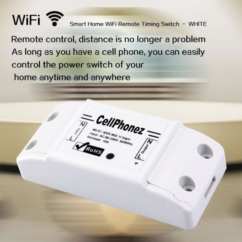 CellPhonez.in - CellPhonez Intelligent Wireless Remote Control Switch - ABS Shell Socket