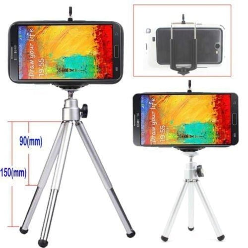CellPhonez.in - 6 inch Telescopic Tripod for Smartphones