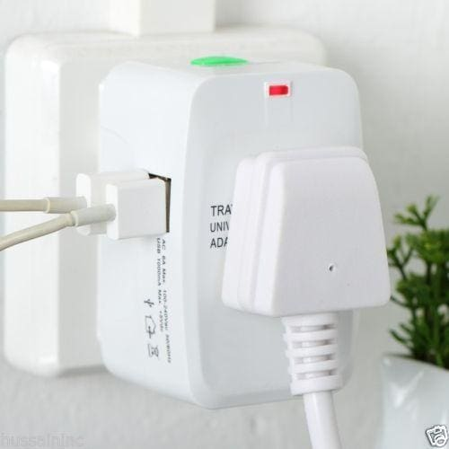 CellPhonez.in - UNIVERSAL POWER ADAPTER WITH 2 USB PORT