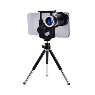 CellPhonez.in - 8X Optical Zoom Telescope Mobile Camera Lens Kit with Tripod and Adjustable Holder