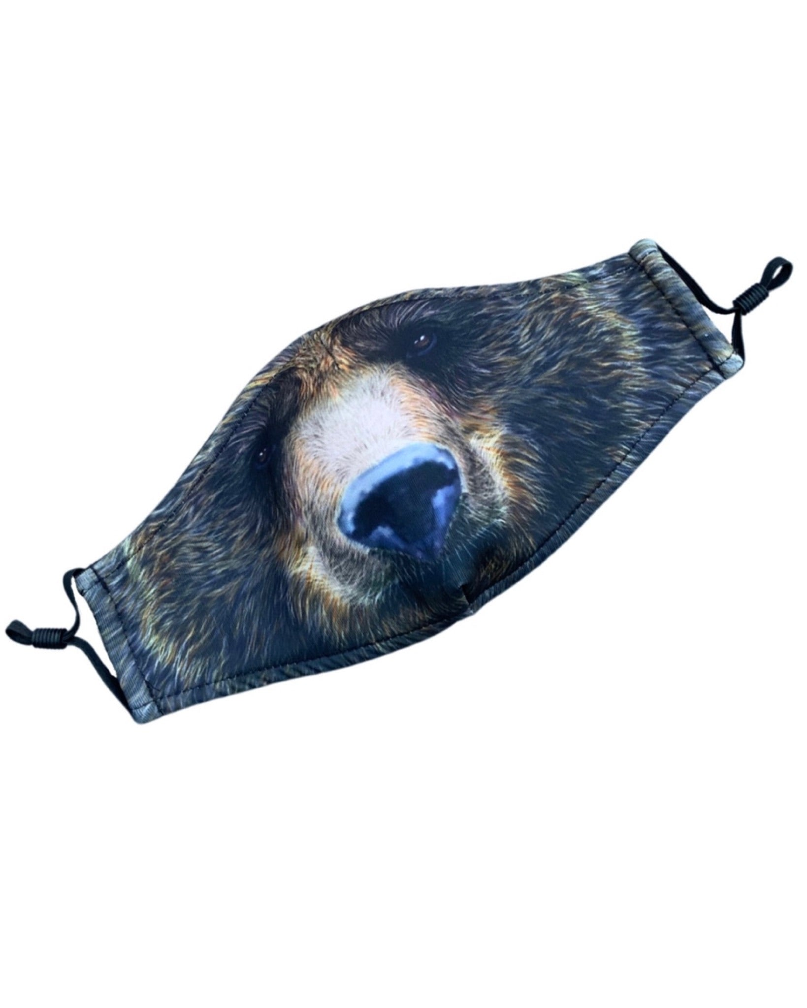 Adult and Kids Animal Cloth Face Mask - Bear