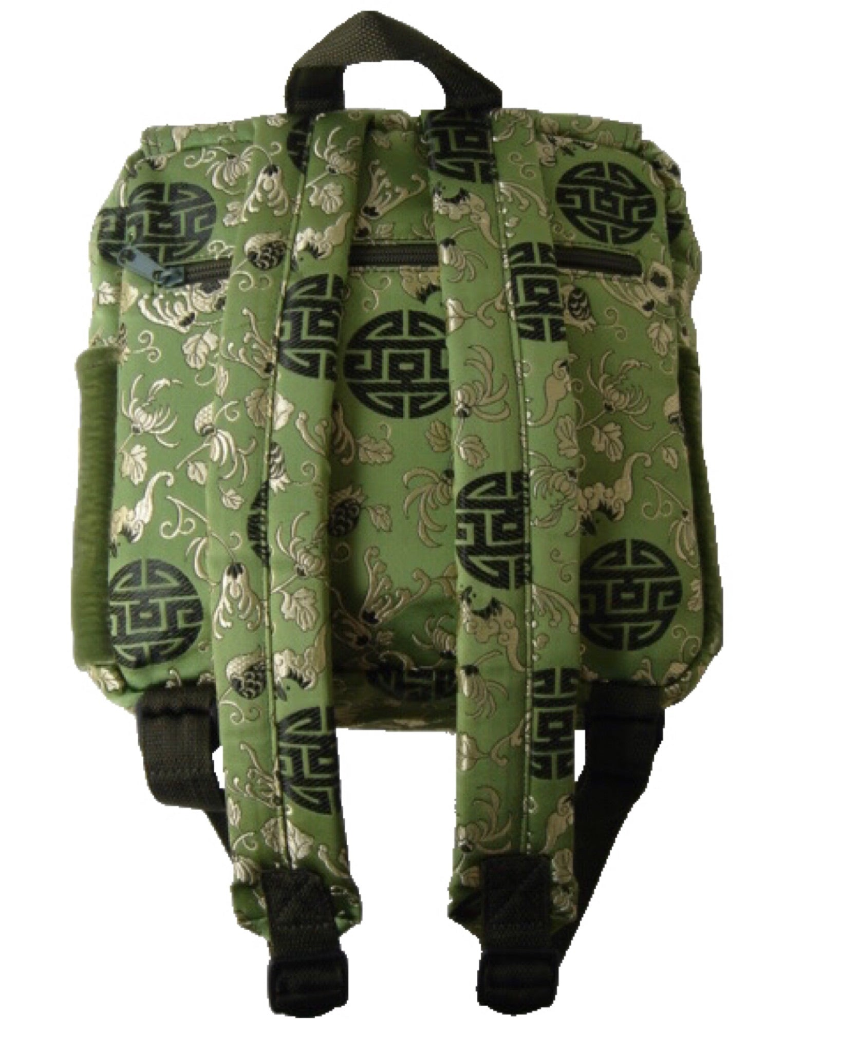 Buzz Silk Backpack - Medallion Print