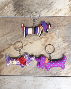 Mini Dog Keychain