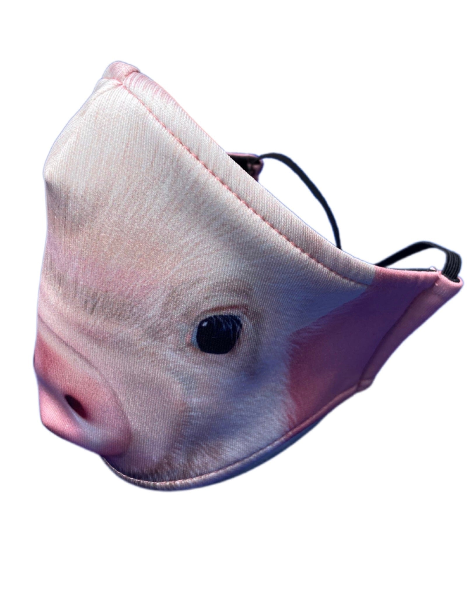 Adult and Kids Animal Cloth Face Mask - Pig