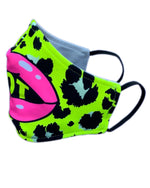 Hot Lips Reusable and Reversible Cloth Face Mask