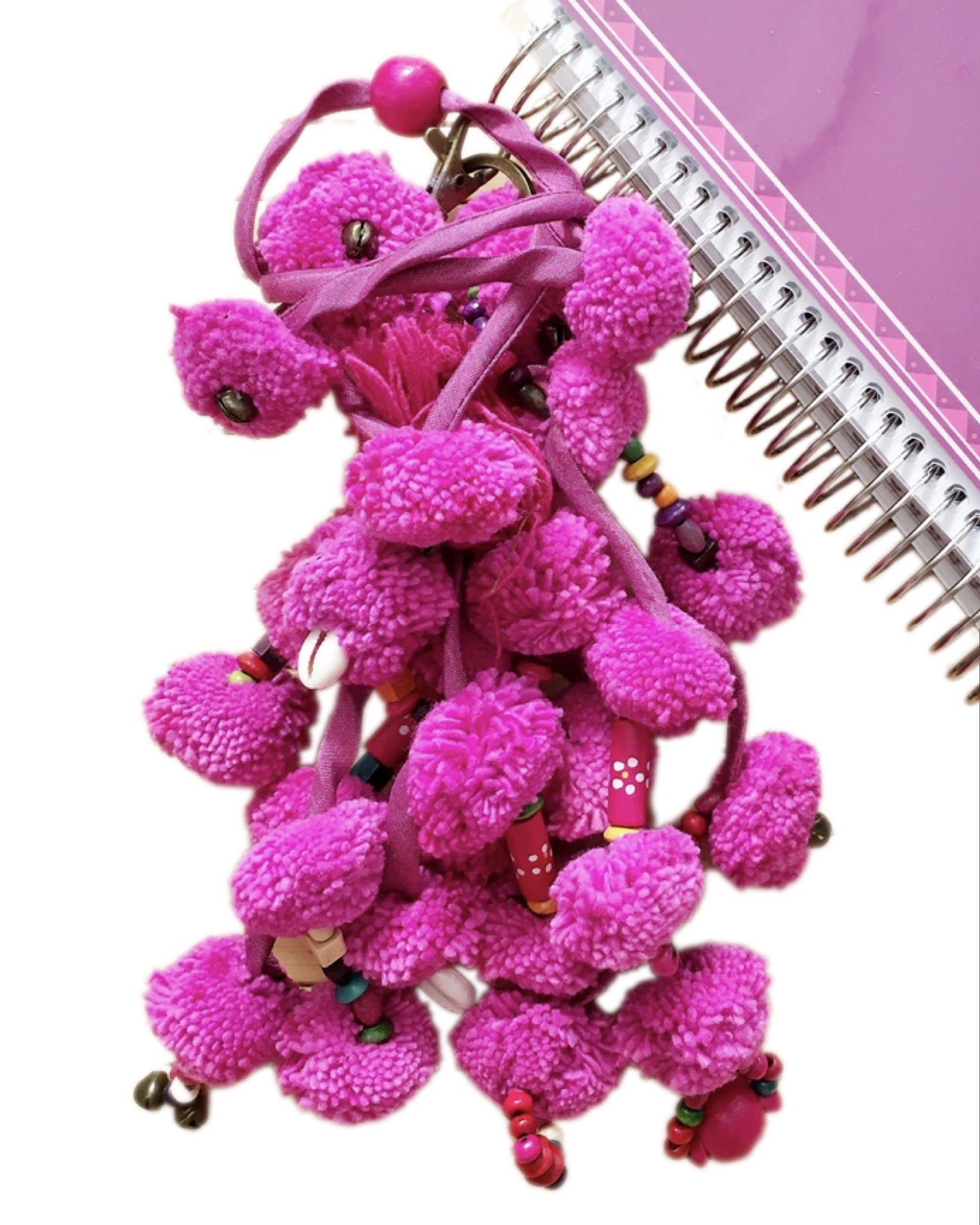 Pom Pom Charms in Monotone colors
