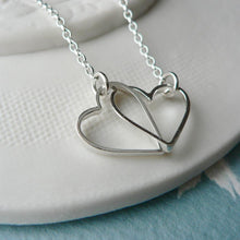Heart Fragments Entwined Pendant