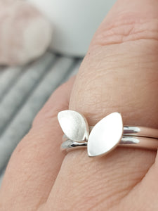 Stacking Leaf Ring