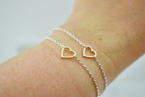 Mini Heart Fragments Bracelet