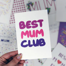 Best Mum Club Card