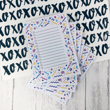 Colourful Patterned A6 Lined Notepad