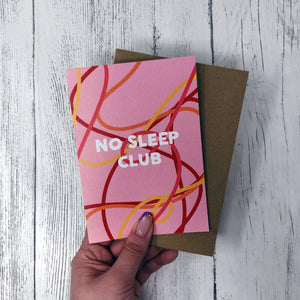 ***50% OFF***No Sleep Club Card