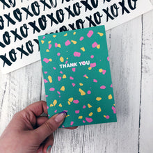 ***50% OFF*** Thank You Terrazzo Card
