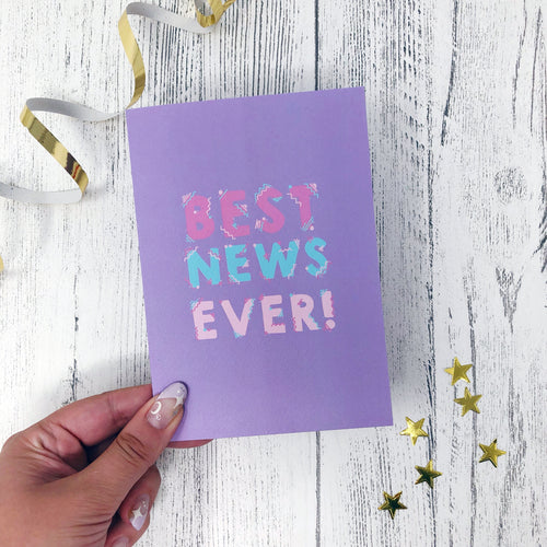 'Best News Ever' Card