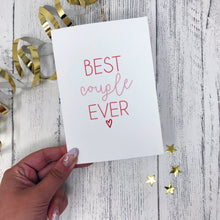 'Best Couple Ever' Card