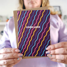 ***50% OFF*** Good Luck Squiggles Card