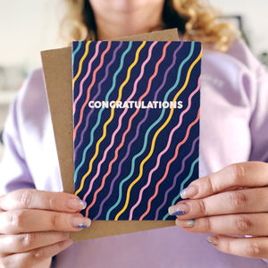 Congratulations Squiggles Card
