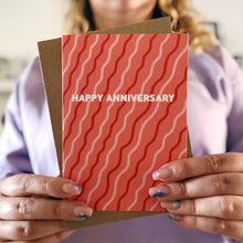 Happy Anniversary Squiggles Card