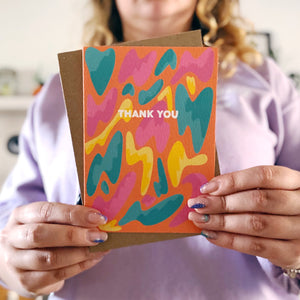 Thank You Lava Lamp Card