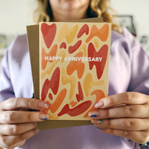 Happy Anniversary Lava Lamp Card