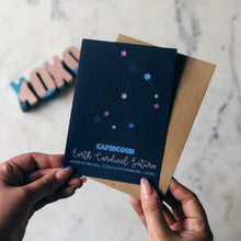 Capricorn Constellation Card