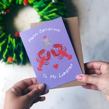 You're My Lobster Friends TV Show Charity Christmas Card