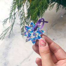 Colourful Christmas Mini Star Decoration