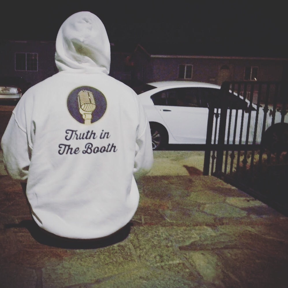 Truth In The Booth Sweatshirt [White]