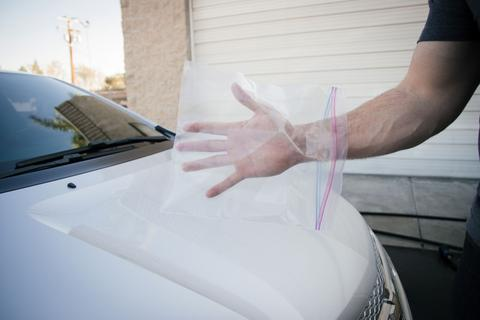 Cleaning Car Glass and Windscreens