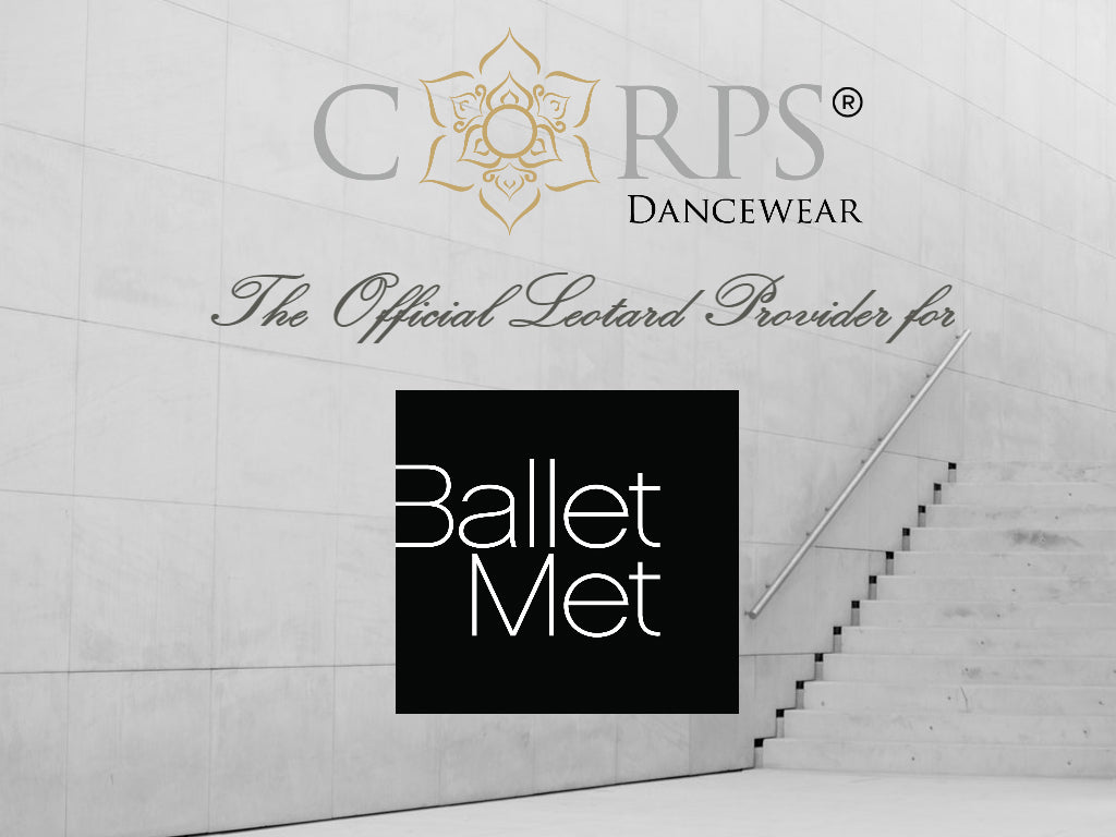 Corps Dancewear is now BalletMet's Official Leotard Provider!