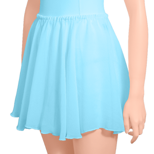 Chiffon Pull-on Circle Skirt - Adult