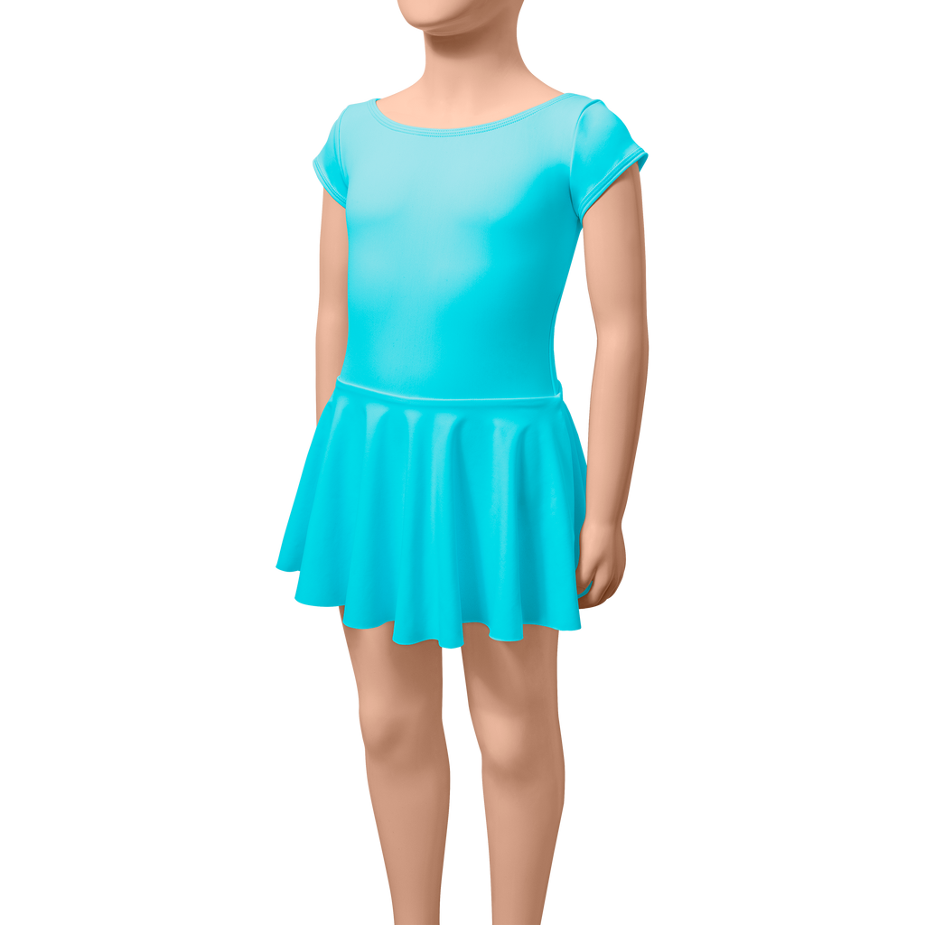 Skirted Cap Sleeves - Child
