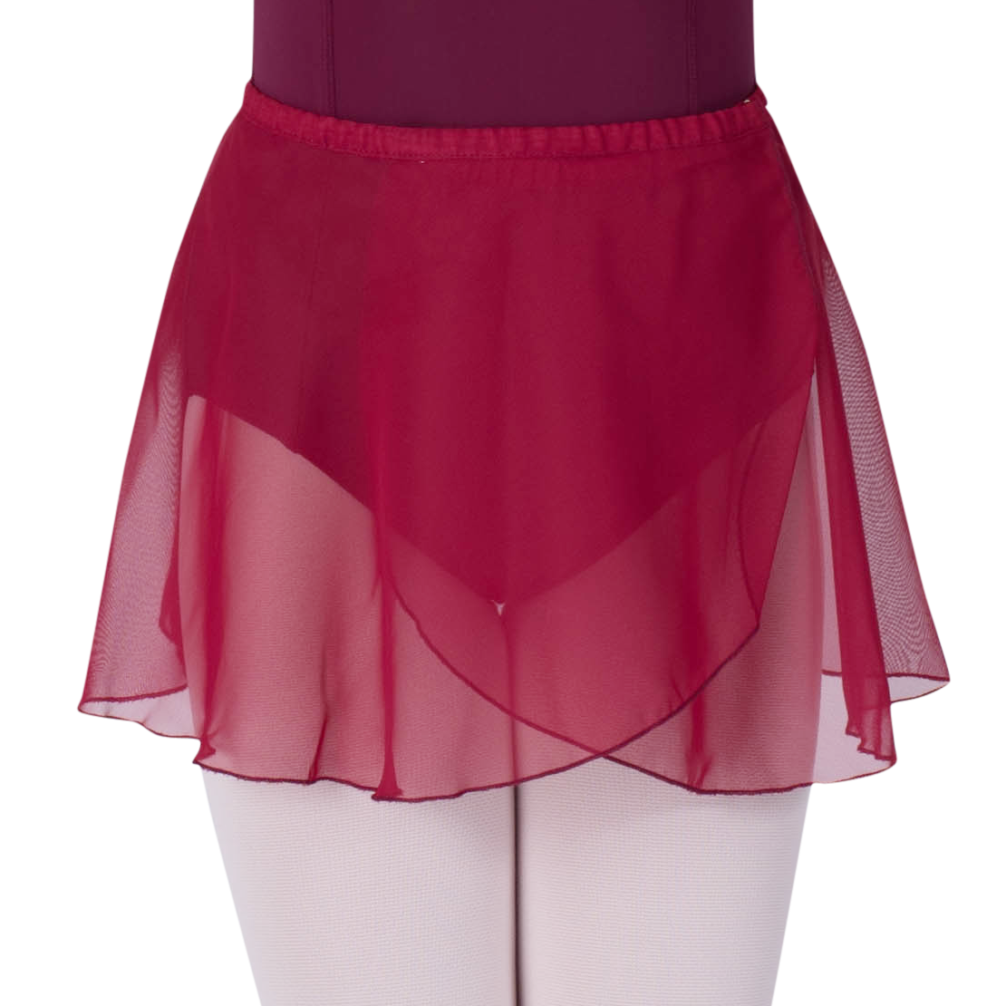 Chiffon_Wrap_Skirt_Wine_Corps_Dancewear
