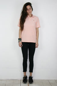 Polo RL Salmon stripes