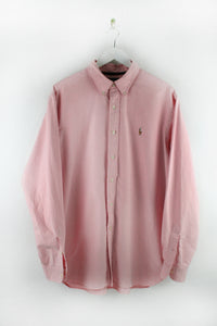 Polo RL pink Oxford