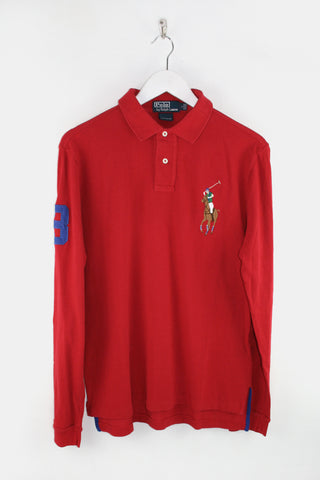Red Polo RL ls