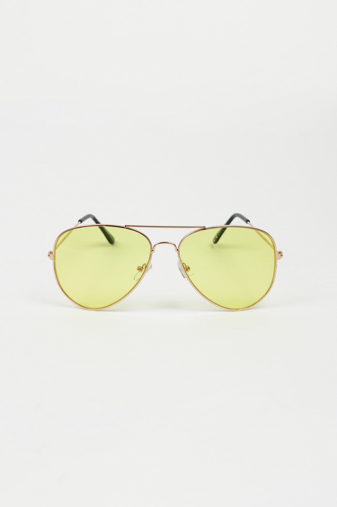 Yellow Aviators