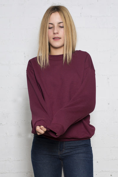 Bordeaux Basic Sweat