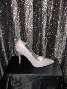 Crystal Pleaser heel