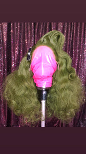 Moss Green Vintage Premium Lacefront