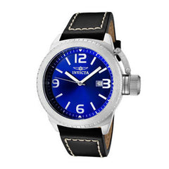 Men's Stainless Steel Invicta Corduba Watch with Blue Dial (Model: 1109)