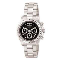 Men's Invicta Speedway Collection S Series Watch with Round Black Dial (Model: 9223)