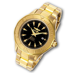 Men's Invicta Ocean Ghost III Gold-Tone Watch with Black Dial (Model:7040)