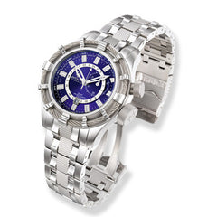 Men's Invicta Signature Bolt Stainless Steel Watch with Blue Dial (Model: 7249)