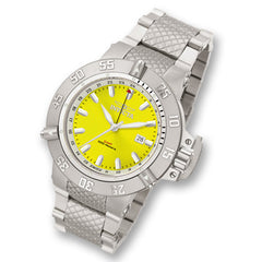 Men's Invicta Signature Subaqua Noma Stainless Steel Watch with Yellow Dial (Model: 7257)