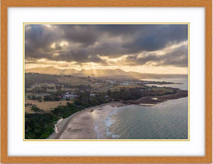 """Sun-Rays at Turners Beach"" - TAS"