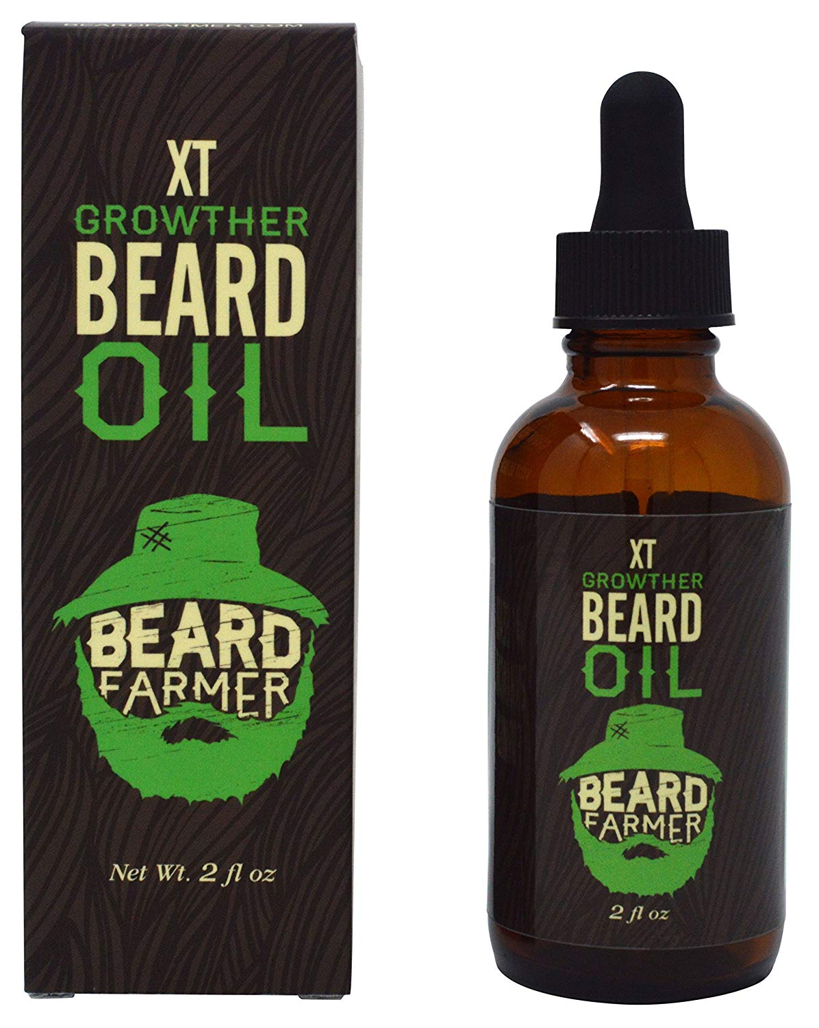 Beard Farmer - Growther XT Beard Oil (Extra Fast Beard Growth) All Natural Beard Growth Oil