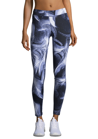 Casall Windy printed tights, housut, Tekstiilit, www.sportif.fi